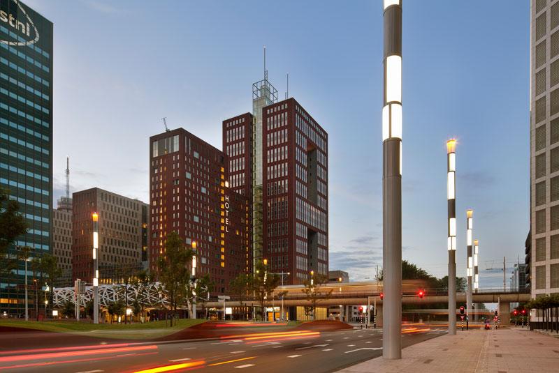 Het aanzicht van het gebouw